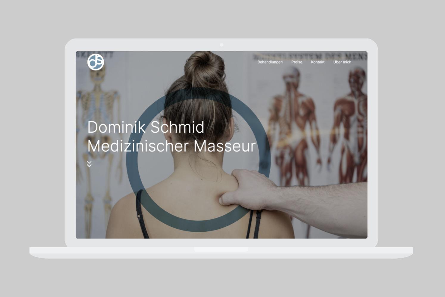Desktopansicht ds med. Masseur